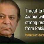 @retwit_61 @Oo3012 Threat to Saudi Arabia will evoke strong response from Pakistan.Long live Pak-Saudi brotherhood. http://t.co/OYgF9L3sM1