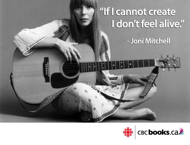 .@cbcbooks: 10 #JoniMitchell songs everyone should know http://t.co/U9yWygP7YL http://t.co/HIYvlms42r