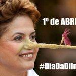 "Tuiteiros transformam 1º de abril em ""Dia da Dilma""; a hashtag #DiaDaDilma está nos TTs http://t.co/q95krtw525 http://t.co/Hk6tVGtgvn"