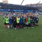 Second day of our @Blues_Camps and a special surprise visit from @Gareth_Anscombe @LloydWilliams_ and @S_Humberstone http://t.co/TVXrKE3Nlt
