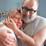 #FuerzaLanata | Jorge se reencontró con la mujer que le donó el riñón. http://t.co/BzJ8J5Ed7S http://t.co/xMKc6nFO5W
