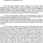 """But...WHAT??!!! """"@fanetin: intenné es maravilloso. RT @elmundotoday: Pitingo y su versión de los hechos. http://t.co/P3uwLMBbKX"""""""
