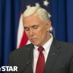 """""""A talker, not a leader"""" - @matthewltully judgment of Mike Pence in @indystar http://t.co/4jAghicVNL #RFRA http://t.co/9vEX1pQJOi"""