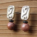 Boho earrings brown earrings boho jewelry cheap boho by JabberDuck http://t.co/oXSRFqce71 http://t.co/3atUHZ1BcW