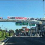 Em Maceió, a homenagem já foi feita #diadadilma http://t.co/uJik60Lffv