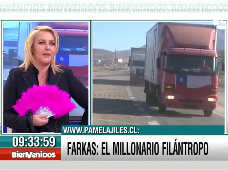 """#Bienvenidos13 (@Bienvenidos13): .@pamjiles: """"Con el desprecio e indignación a los políticos, un personaje como Farkas representa a la gente"""
