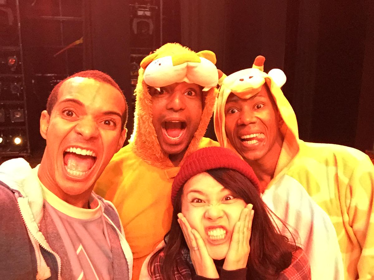 Some of us from @TheLionKing for #OnesieWednesday in aid of @Autism #StandOutForAutism • http://t.co/idIIKU8nB0 http://t.co/QLqUzZjPWQ