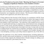 BREAKING: Pres #Obama issues Executive Order to impose sanctions on #cybersecurity threats. @wusa9 http://t.co/6Hpq43d5aO