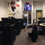 Man @StephenCurry30 is so good, he even got me in the newsroom. #DubNation http://t.co/Y8StSn5R75