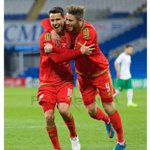 Great start the the Campaign last night, great to get the 3 points. Congrats @tomosullivan10 on his 2 goals #Wales http://t.co/HmJu9i75ZQ