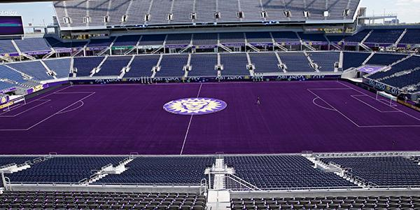 """It's done. Years of hard work complete. The """"Purple Pitch"""" is ready for Friday. Read: http://t.co/2KqPiMRcz4 #GoCity http://t.co/OBz3O61pv6"""