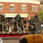 Apparently the Nichols Fountain steeds are on their way back. http://t.co/trAdgjbo3r