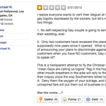 Great review at the anti-gay pizza joint in Indiana http://t.co/HKTsLkwT8w http://t.co/xhom0e9v8x