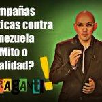 . @maperezpirela deja #Infranti las campañas de desinformación de medios internacionales sobre #Venezuela http://t.co/FiNQ1WPJ2R