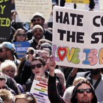 """#Indiana Scrambles to Contain Corporate & Public Outcry over Anti-LGBT """"Religious Freedom"""" Law http://t.co/7TZt0x91Ad http://t.co/rey8Zq6geV"""