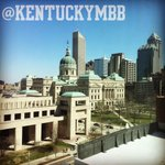Indianapolis awaits the Cats. #FinalFour http://t.co/cquhKzzGdO