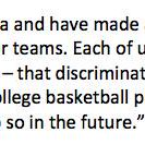 Join statement from Final Four coaches regarding concerns about Indiana Religious Freedom Restoration Act http://t.co/MKeX2MmoUF