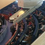 Rob Ford now handing out his business cards to kids at council #TOpoli http://t.co/YCWbS7GCck