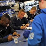 Photos from the @PoshClubShop signing session with @A9Mac @DaveRobertson11 @grantmccann11 http://t.co/VILdpXE2VN http://t.co/pR2N7OwYpS