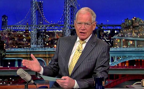Watch David Letterman slam the Indiana governor on @Letterman: