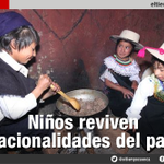 Niños reviven nacionalidades del #Ecuador http://t.co/xj22qfBIvD vía @eltiempocuenca http://t.co/qURuHbvSjz