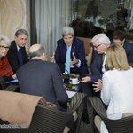 #IranTalks: Intensive consultation+close coordination betw. #Steinmeier @FedericaMog @PHammondMP @JohnKerry+partners http://t.co/93hq8AVXpe
