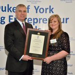 Kelly receiving her @TheDukeOfYork young entrepreneur award last week #sheffieldissuper #iLoveS #southyorkshire http://t.co/EeqjTyzscj