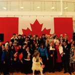 WELCOME - to 99 new Canadians from 50+ countries - to OUR amazing country. 100 days to @TO2015! #OCanada http://t.co/M7VFLmOVhz