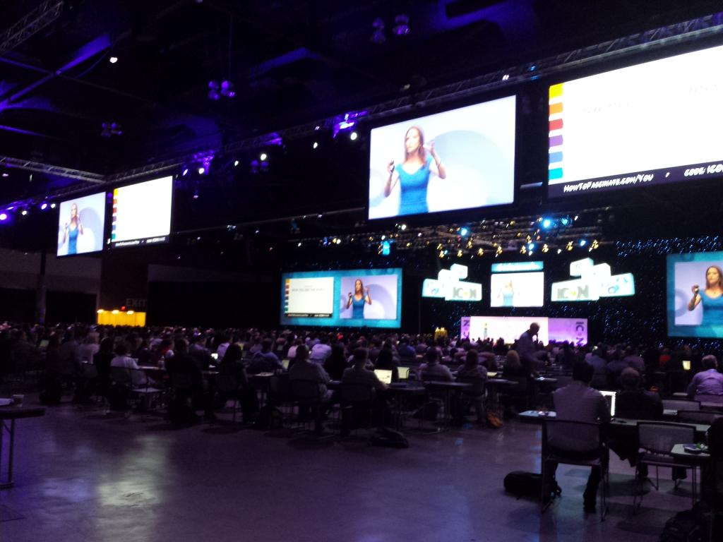 Standing room only at @SallyHogshead keynote during #ICON15. Killer content! http://t.co/93DuYRdEDr code:iconshare http://t.co/i0Kt7ChWZx