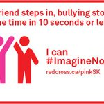 Be part of the #CultureChange around bullying. If you see it happening, speak up! #ImagineNoBullying #DayofPink http://t.co/0S1CzeKnbm