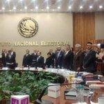 Toma de protesta como representante de mi partido @PRI_Nacional ante el Consejo General del @INEMexico . http://t.co/64cA6PxWnp