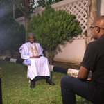 BBC exclusive FIRST INTERVIEW WITH #BUHARI @okwoche and @mdliman with new nigerian president @bbcworld http://t.co/pPuzCa5E0L