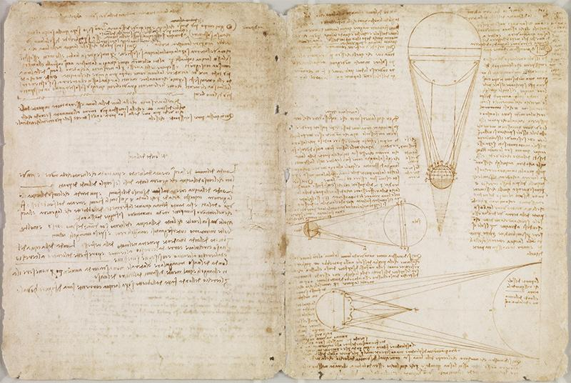 This summer, one of only 31 Leonardo notebooks known to exist is coming our way! Via @artnet: http://t.co/BOVotdOFeh http://t.co/xFIIDQMobL