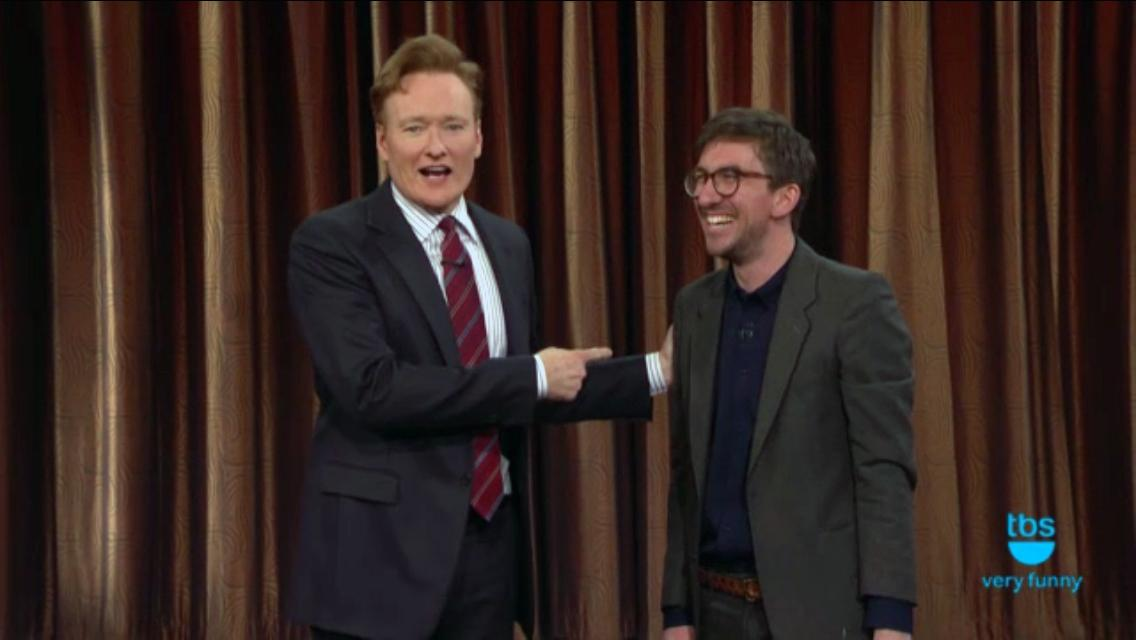 Mark Little was on Conan last night and he comedy'd the shit out it! https://t.co/6ZWzoQyCR5 http://t.co/UUurHk4nmh