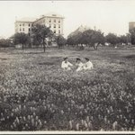 Looks different. @UTAustin MT @Texas_Pictures: 3 students relax on University of TX campus 1903. #TexasHistory #Texas http://t.co/kbyxgWJkk8