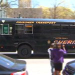 Bus passes courtroom, possibly holding educators just convicted in APS cheating trial. http://t.co/ft5xpj0r11 http://t.co/YgHS5A2mr6
