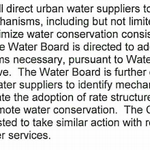 Reading down into @JerryBrownGov new #cadrought exec order, new power for water agencies to raise consumer rates.. http://t.co/RR2mbYLStN