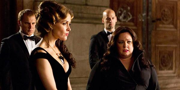 .@MelissaMcCarthy goes full James Bond in the brand new trailer for SpyMovie @SpytheMovie
