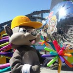Its like #pachi is looking at himself in the mirror. @TO2015 #CiscoTO2015 http://t.co/9ARDPB52IN