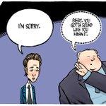 """""""Apology"""" Thursdays @TorontoStar Cartoon #TOpoli http://t.co/5cm9h4YrIe"""