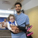 Why We Love Sports Today: Willie Cauley-Stein goes on lunch date with 4-year-old Olivia, who has cerebral palsy. http://t.co/XsKCJB5yvk