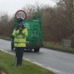Mayo County Council fool motorists with a fake Garda on the side of the road http://t.co/vtdILXPRWl http://t.co/LON24HKcdL