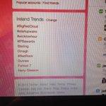 A beautiful sight #BigRedCloud setting trends on #irishbizparty http://t.co/AB2d0vLGFq