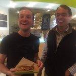 The best Belgian waffle in SF @NEWTREEchocolat @BelgianTrade #belgianwaffle #SanFrancisco http://t.co/RDbWPoJMT2