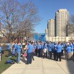 Autism awareness walk soon at blue bridge #GrandRapids. http://t.co/tqwH4n0cmo Calley. Mayor Heartwell lead walk. http://t.co/EwaNciDNPm