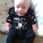 @hullfcofficial #showyourcolours @Claireking79 My 8 week nephew Jack already knowing right from wrong ◼️◻️◼️◻️ http://t.co/kvp1SO6uhh