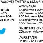 JASA TAMBAH FOLLOWER TWITTER & INSTAGRAM AKTIF INDONESIA. CP. 085732080815 http://t.co/IljLn7JUtM