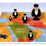 Illustration shows #Irans role in MidEast from Saudi http://t.co/aKdNPnfll4