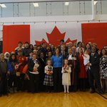 99 new Canadian citizens from 58 countries helped celebrate #100days to go until #TO2015. http://t.co/z5IwBEQZmS