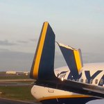 Two Ryanair planes clipped each other at Dublin Airport this morning http://t.co/MMildfFJLq http://t.co/CJLIcNzm10